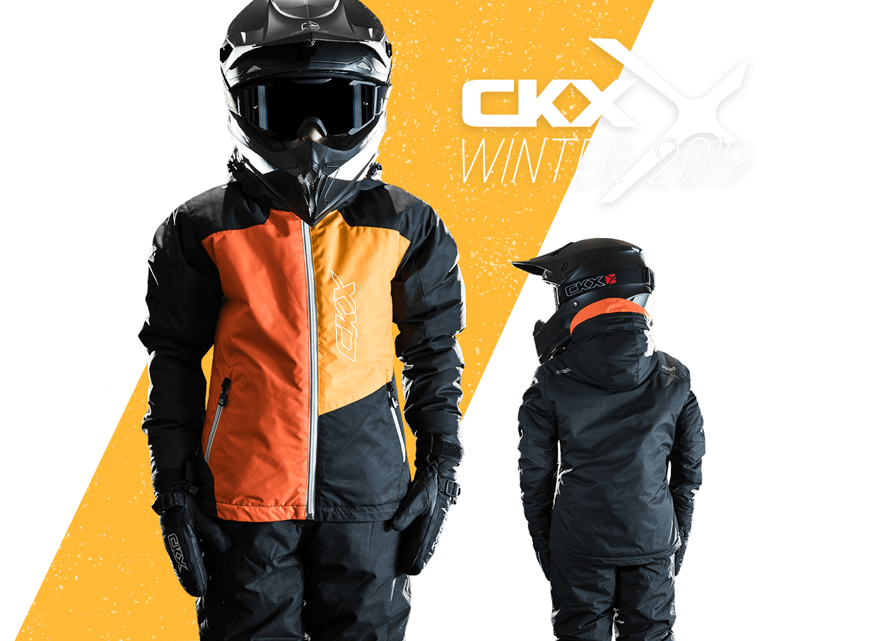 2019 CKX Tundra snowmobile boys jacket