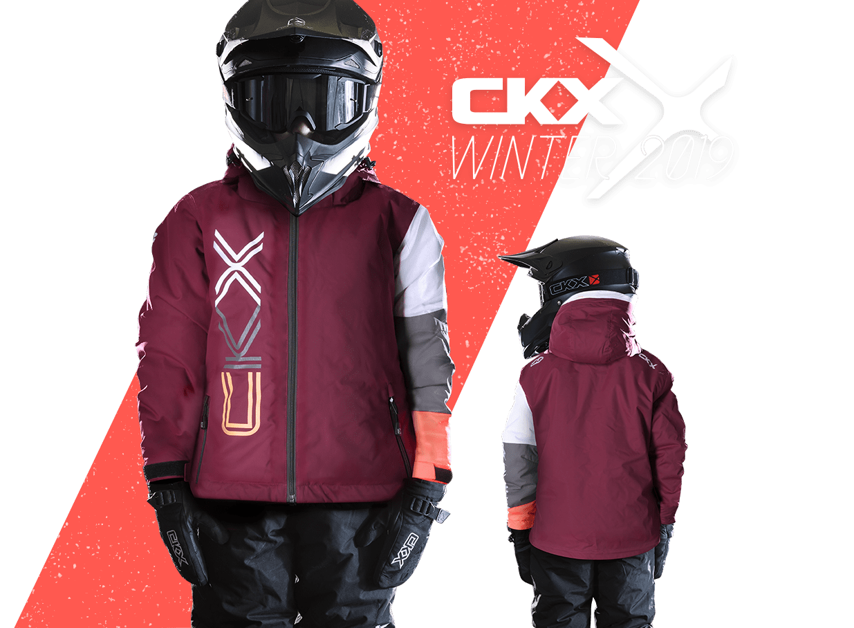 2019 CKX Bella snowmobile girls jacket