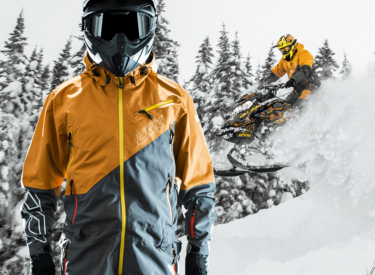 2019 CKX Snowmobile Sidehill onepiece