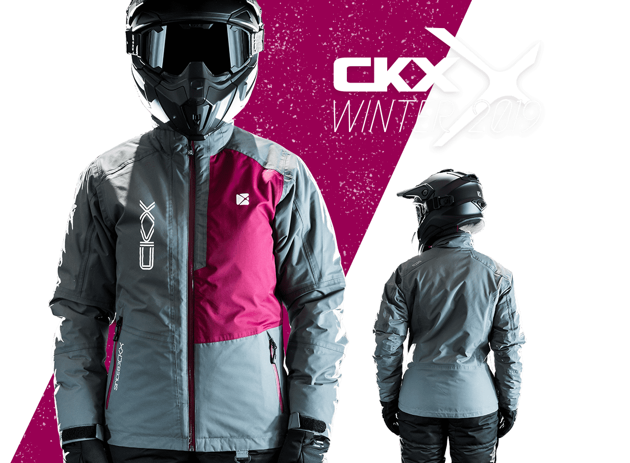 2019 CKX Bella snowmobile jacket